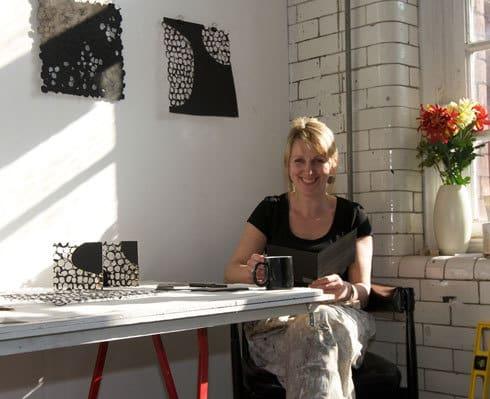 Jenny in Studio