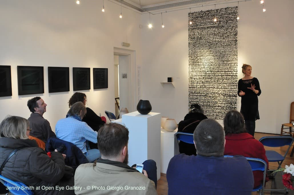 Jenny Smith on youtube talking about Shadow Drawing Solo Exhibition at Open Eye Gallery (Part 2)